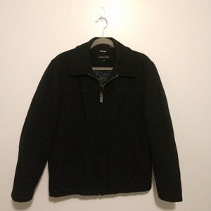 Men's All Black Calvin Klein Jacket